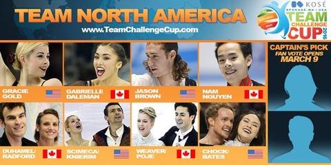 チーム・チャンレンジカップ2016のアメリカ出場者確定。 グレイシーゴールドやジェイソン・ブラウンが出場するよ