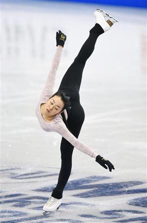 浅田真央、公式練習はトリプルアクセル飛ばずも調子は上向き。笑顔で試合が終われるように頑張って欲しい