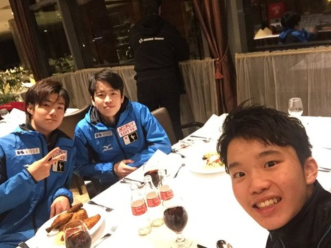 世界ジュニア選手権2016。優勝はダニエル・サモーヒン。中村優12位、山本草太の代わりに出場した友野一希は15位
