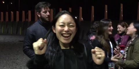 恋人ハビエルの世界選手権2連覇達成に安藤美姫が歓喜。大喜びで祝福