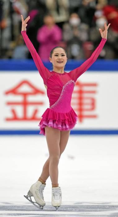 宮原知子が素晴らしい演技も表彰台を逃す。表現力向上のため来季に向けてオフシーズン「バレエ習いに行く」と宣言