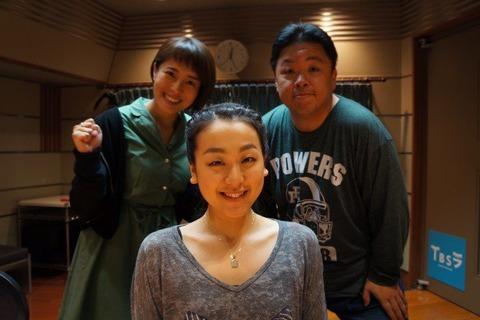 伊集院光のラジオゲストに浅田真央が出演し休養期間中に引退文を書いていた事を打ち明ける