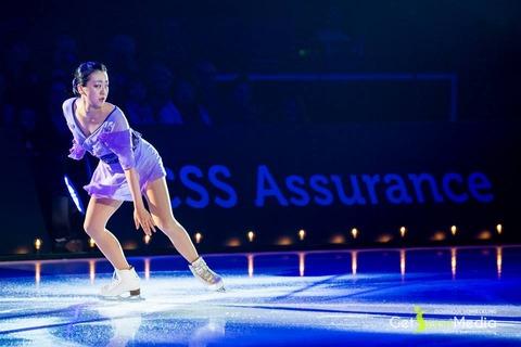 スイスで行われたアイスレジェンド2016で浅田真央がバラード第1番と蝶々婦人で華麗な演技を披露