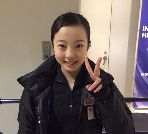 将来のビジョンも明確。本田真凜は来季憧れの浅田真央と同組滑走を目指す。
