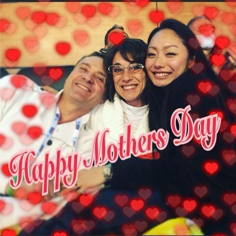 安藤美姫がついに結婚か!?母の日に公開した家族写真が大反響
