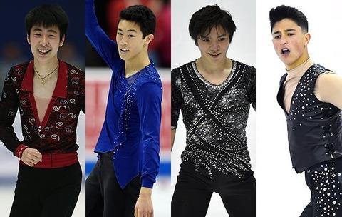 Icenetworkの記事に宇野昌磨・ボーヤン・ネイサンが特集される。台頭している3人は略してクワドブラザーズ