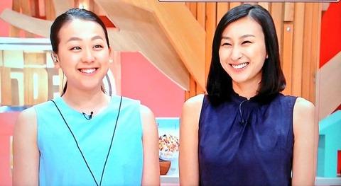 浅田真央が福岡に登場。地元テレビ局に生出演しTHE ICE北九州公演の告知を行ったよ