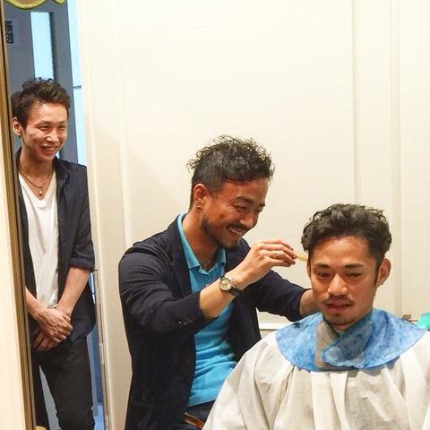 高橋大輔が美容室で髪をスッキリ散髪。NEWS ZEROの次回出演は6月23日との事