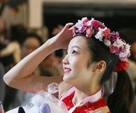 本田真凜はジュニア女王になってからオーラが出てきた?最近一段と綺麗になっている気がする
