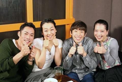 浅田真央とスケート仲間たちが食事会で仲良く本音でスターズオントーク。