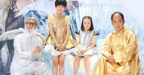 トレンディ斎藤に本田望結が「頭も光ってる!」と映画の公開イベントで会場を盛り上げる
