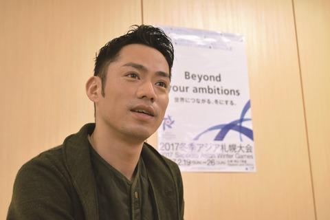 2017冬季アジア札幌大会を高橋大輔が全力で応援。アスリートに直接インタビュー