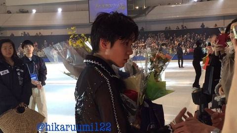 PIW横浜では宇野昌磨選手の人気の高さを実感し幕を閉じる。プレゼントを貰う量も半端ない