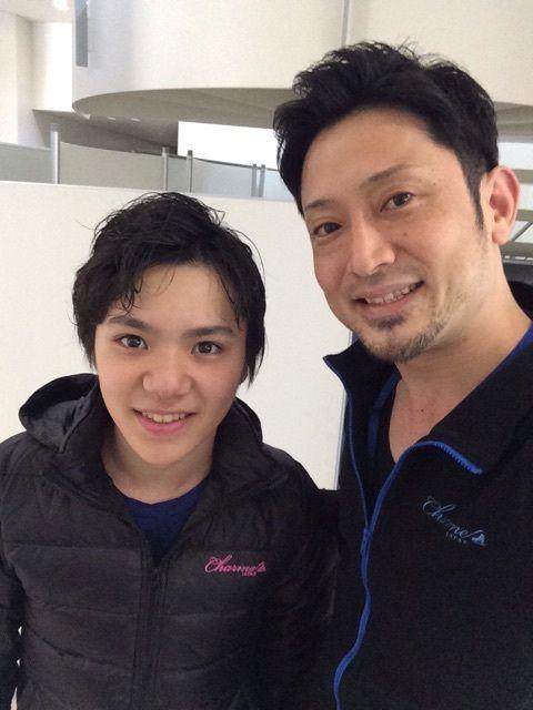 宮本賢二さんのブログに宇野昌磨君が登場。表情が生き生きとして可愛い