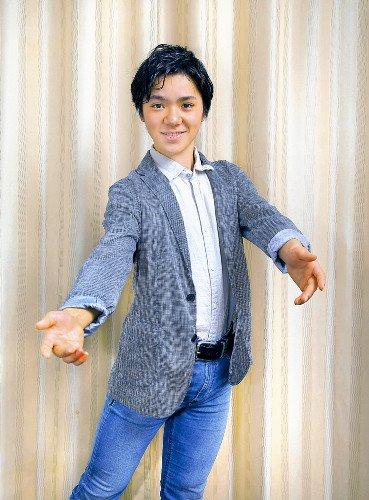 18歳の次世代エース・宇野昌磨にインタビュー。「より強くなりたい。より上を目指して毎日頑張ってます」