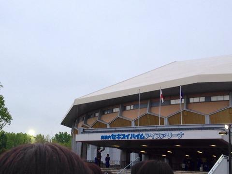 羽生くん目当てのキャンセル組も多かった?豪華選手が出演しても場所が場所なだけに昨日のFaOI札幌公演では空席が目立ったようだ