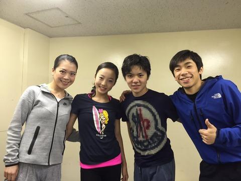 FaOI2016札幌公演無事終了。本田真凜ちゃんの表情を見るとケガは軽傷で元気そうだ