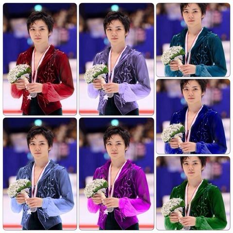 色とりどり・・・宇野昌磨選手の衣装で好きなカラーはどれ?