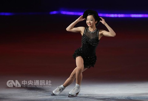 まるで氷上の妖精。アジア・スターズオンアイスで本田真凜が台湾の観客を魅了。