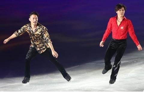 THEICE2016大阪公演。宇野昌磨が高橋大輔とコラボ演技を披露。大阪限定の特別な演出に観客からは大歓声