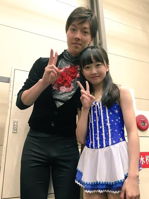 本田望結の可愛さは別格。フィギュアスケートをこのまま続けていくのかこれから先の判断が気になる