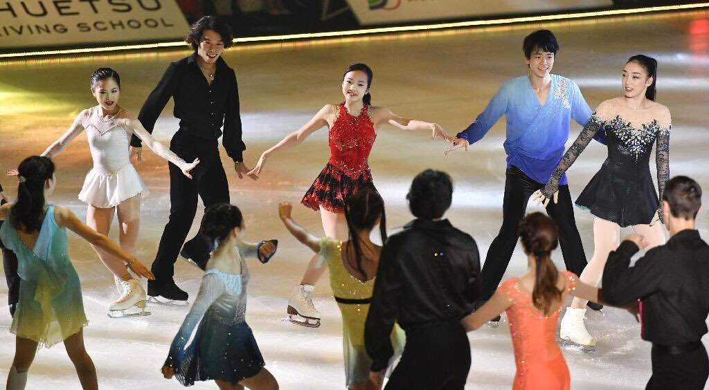 ドリーム・オン・アイス2016で宮原知子が華麗な演技を披露。GPシリーズはスケートカナダとNHK杯に出場決定