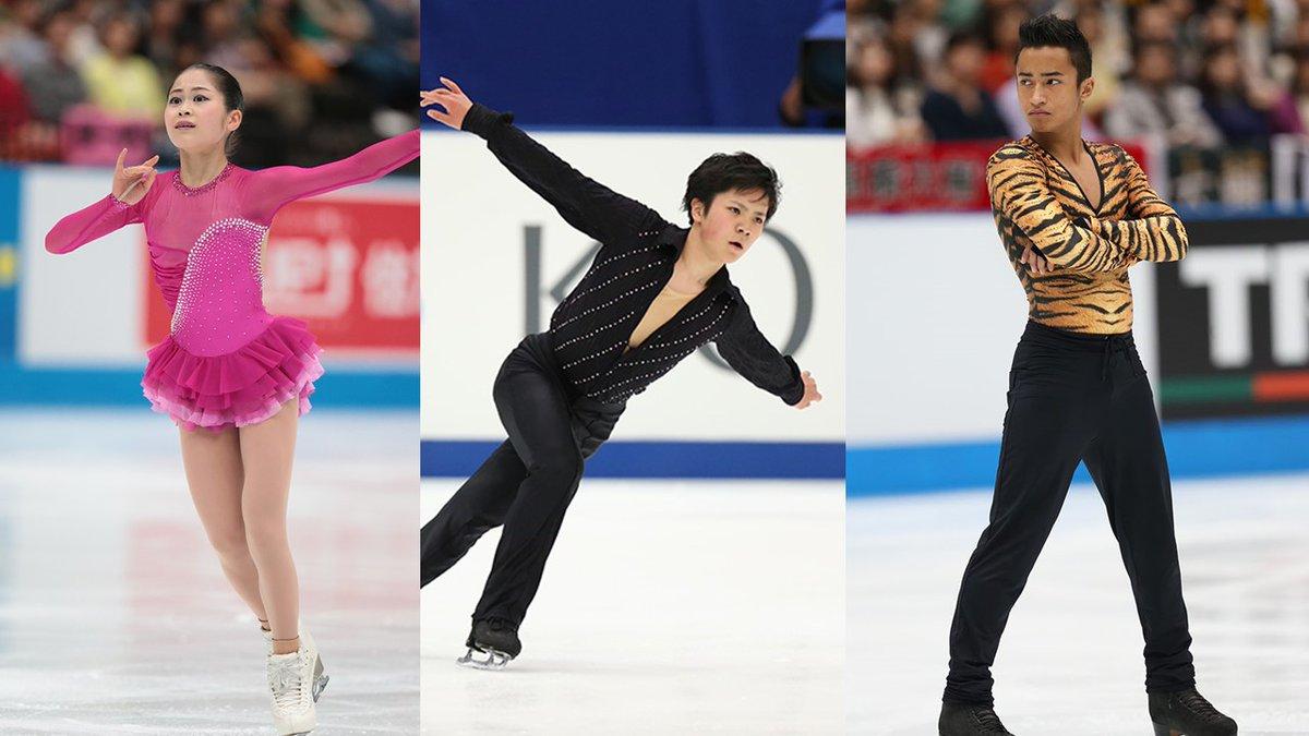日本、北米、欧州による地域対抗戦ジャパン・オープン2016に宇野昌磨・宮原知子の出場が決定