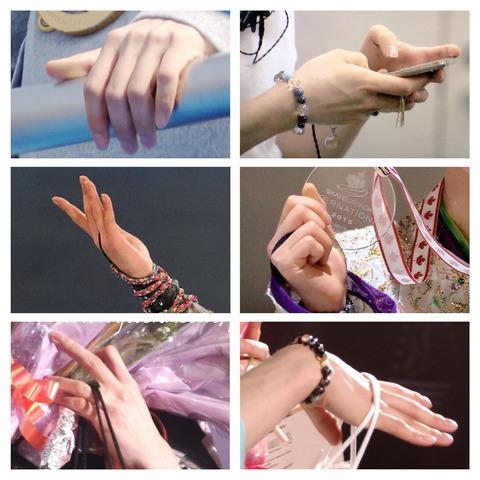 羽生結弦の手も綺麗、苗字も綺麗、悩んでる表情でさえ綺麗に見えてしまう・・・