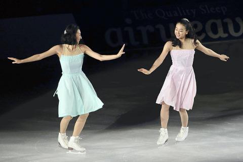 ザ・アイス2016大阪最終公演。浅田真央が新エキシビション~チェロ・スイートを披露。姉の舞さんとは6年ぶりに本格的なペア演技を披露