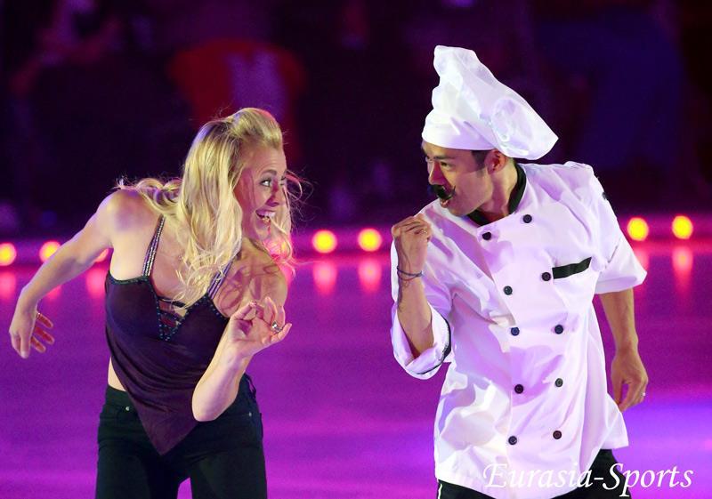 FOI2016の公開リハーサルで高橋大輔が料理人に扮しコミカルな演技を披露