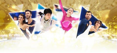 NHK杯の公式サイトを公開。羽生結弦の戦う姿が気品に満ちてかっこいい