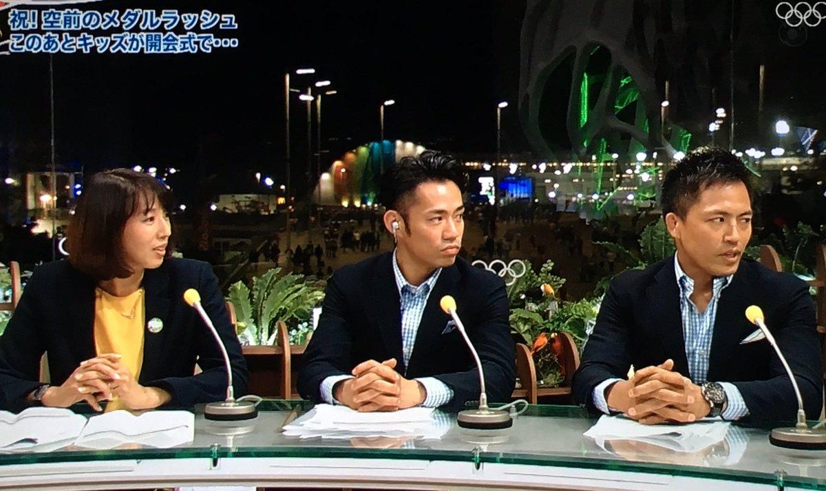 高橋大輔inリオ。キャスターとしてオリンピック出場選手達を全力で応援