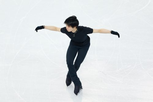Yuzuru+Hanyu+Previews+Winter+Olympics+Day+qPpSjKF4_Sqx