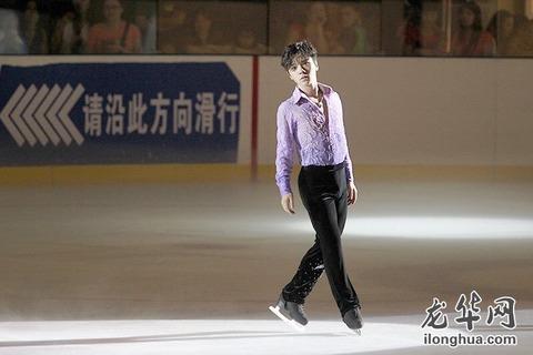 宇野昌磨選手が新SPのラベンダー演技を披露。