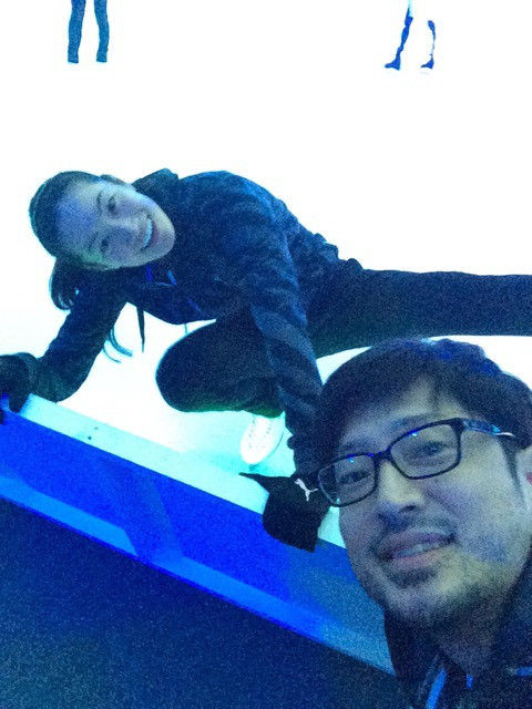 Friends on Ice2016開演前に荒川静香さんや高橋大輔さんが楽しそうな雰囲気の写真を公開