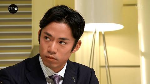 高橋大輔キャスターが狂言師野村萬斎さんを取材。 髪型もスッキリして登場