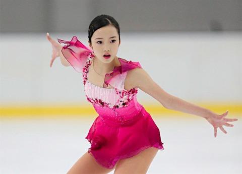 ジュニアGP2016第3戦。坂本花織が初Vで本田真凜が完璧な演技を熟し巻き返しの2位に観客も感動