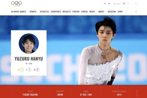 IOCの公式サイトに注目選手として羽生結弦選手が写真付きで掲載される&エントリー発表されたフィン杯は激戦必至