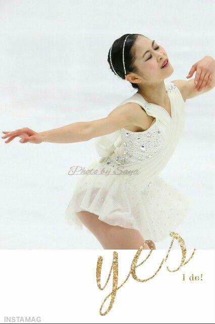 レイア姫の宮原知子がV。純白の衣装で手の動きを華麗にし審査員を魅了