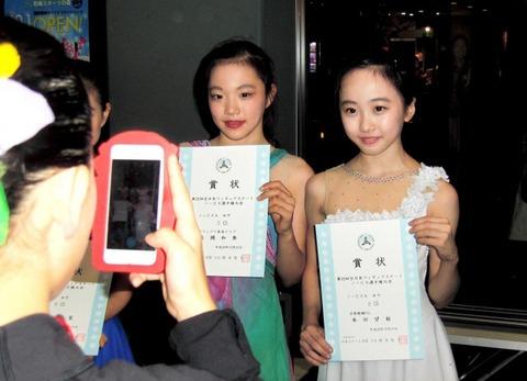 全日本ノービス選手権で本田望結が6位初入賞。繊細な演技で観客を魅了