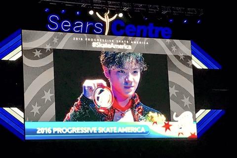 スケートアメリカ2016。宇野昌磨が自己ベストでGP2勝目。4回転3つ決めた!「実力出し切って勝てた」