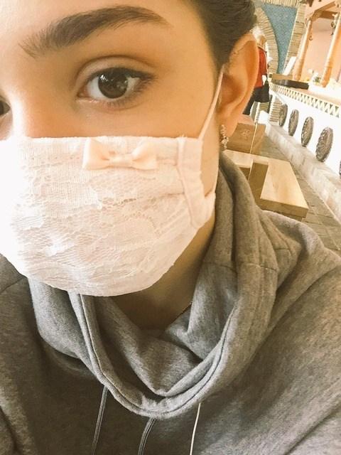 誰に影響された?ロシアのエフゲニア・メドベデワが付けているマスクが可愛い