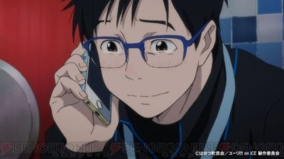 ユーリ!!! on ICE。前代未聞のフィギュアスケートグランプリシリーズが今、幕を開ける。テレビ朝日系列で本日深夜から放送開始