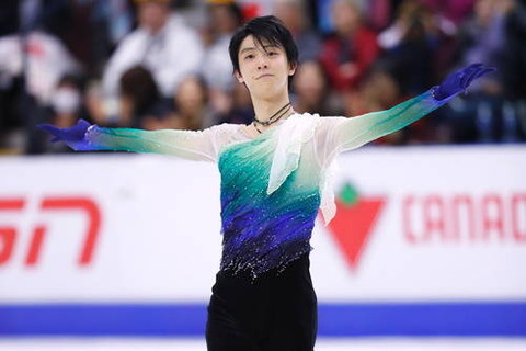スケートカナダ2016。男子フリーで羽生結弦が巻き返すも逆転Vならず2位に…パトリックチャンが連覇