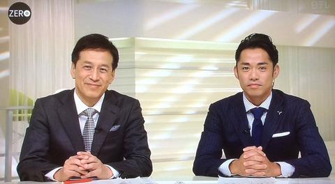 NEWS ZEROで高橋大輔キャスターがUSJのハロウィン特集を取材。