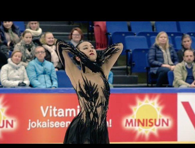 フィンランディア杯2016。女子SP浅田真央が2位発進。エリザベータトゥクタミシェワは4位