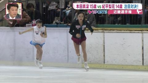 良いライバル関係。本田真凜と紀平梨花は切磋琢磨しながらお互い強くなっていく
