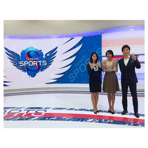 NHKサンデースポーツ 7月のマンスリーキャスター …