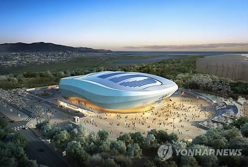 平昌五輪競技場で27トンの大型電光板が落下する事故、「手抜き工事」への懸念高まる