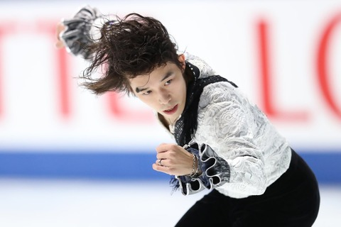 全日本選手権2016。男子SP無良崇人が首位スタート。宇野昌磨はジャンプ不調で2位に